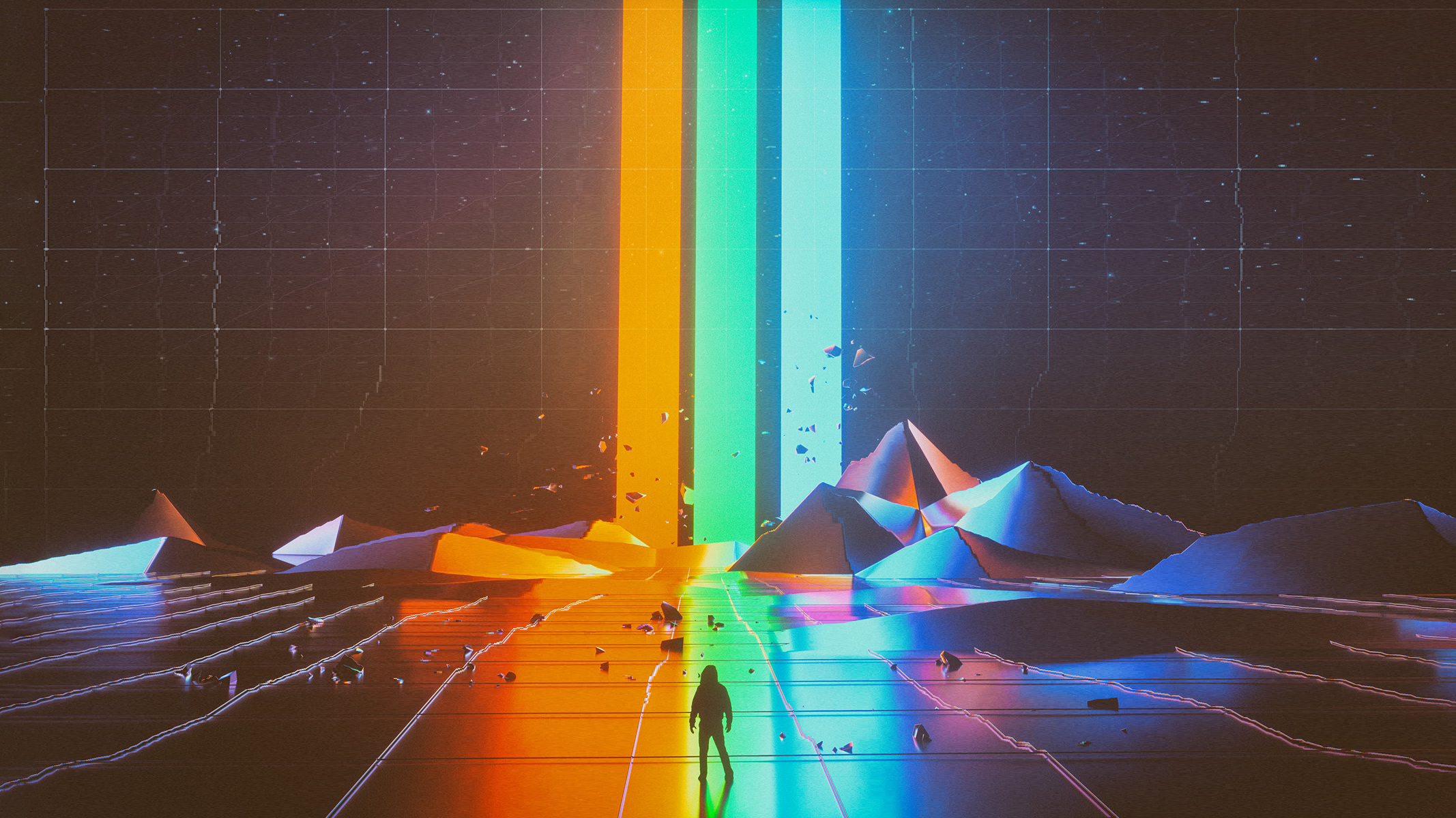Rgb Wallpaper Dump I Made All These Will Minimal Photoshop - Believer Imagine Dragons Album , HD Wallpaper & Backgrounds