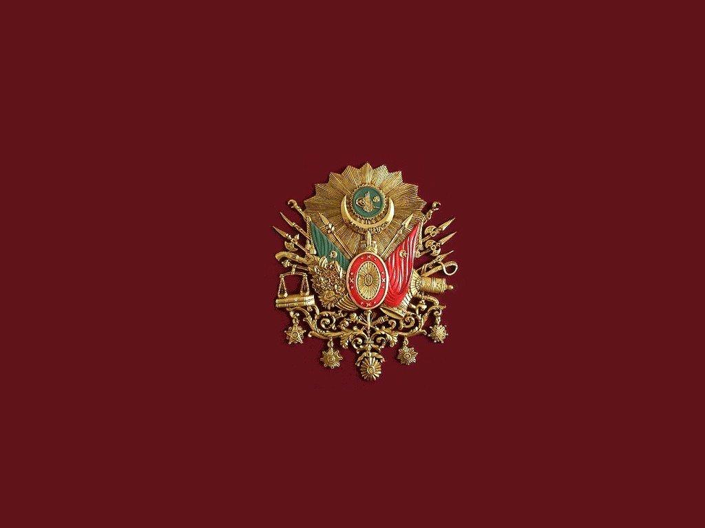 Ottoman Empire Turkish Flag Bozkurt Osmanlı Arması