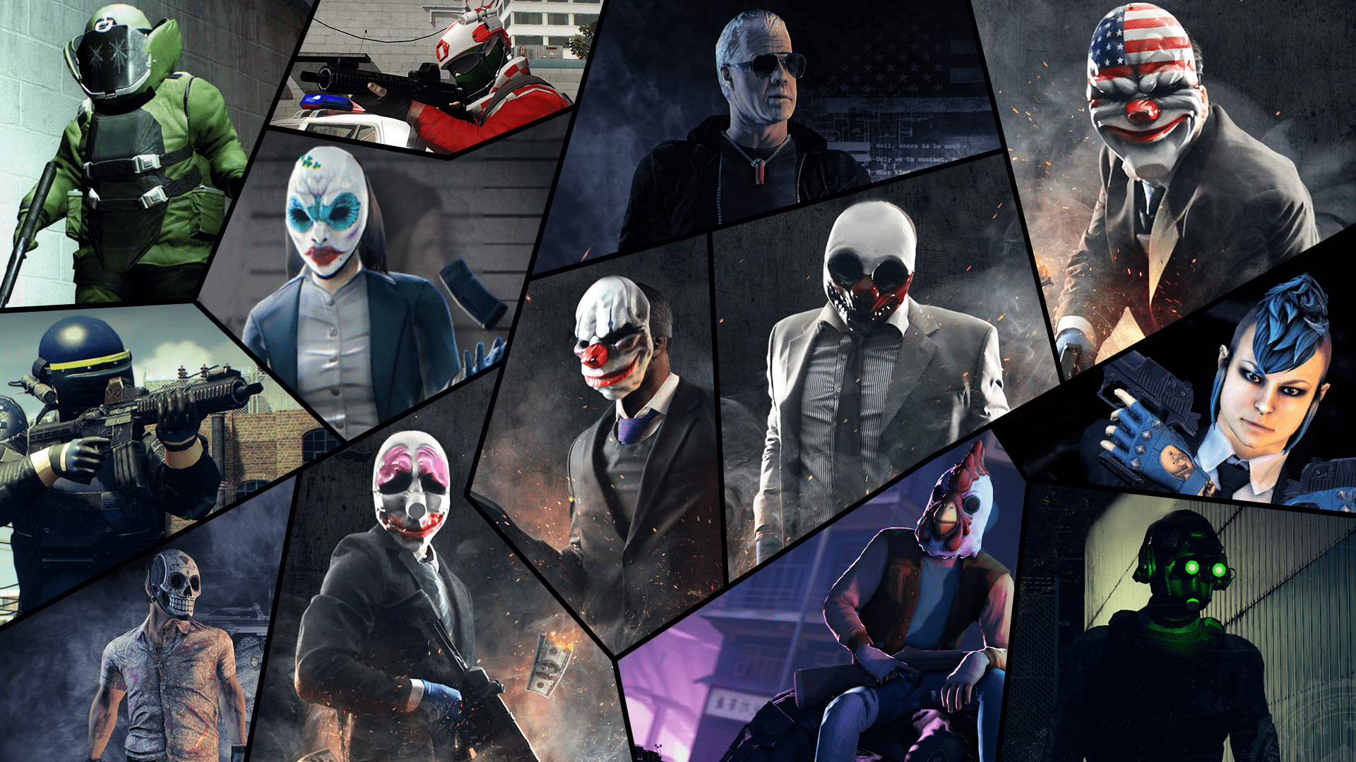 Payday Payday 2 211242 Hd Wallpaper Backgrounds Download