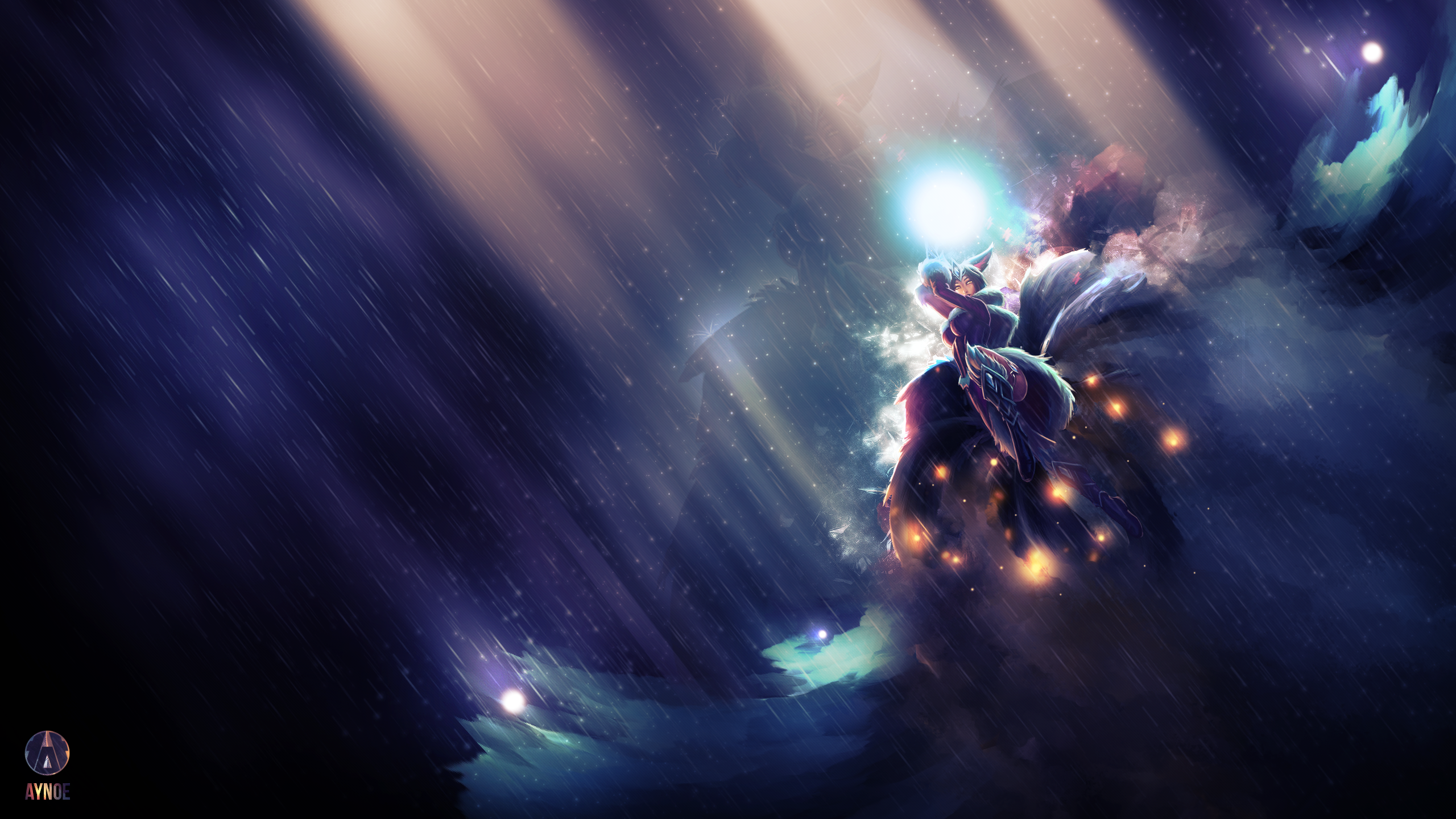 League Of Legends Ahri Wallpapers Is Cool Wallpapers