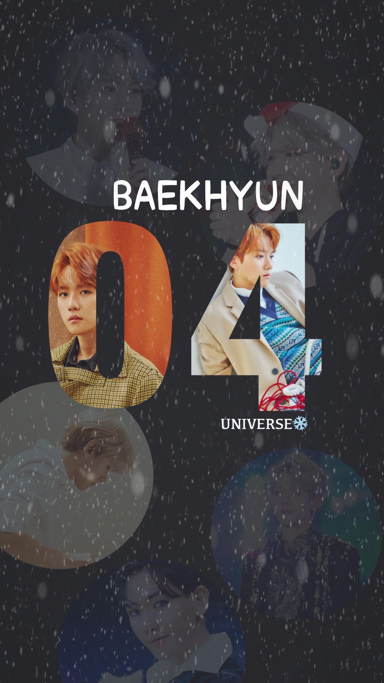 Baekhyun - Exo Baekhyun Wallpaper Universe , HD Wallpaper & Backgrounds