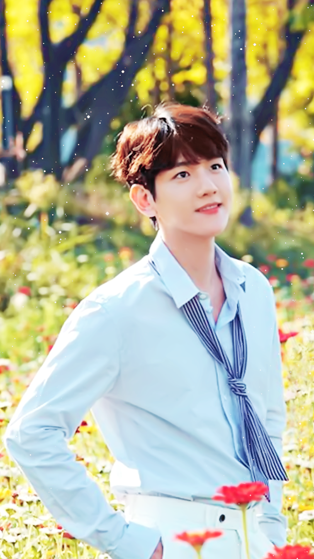 /edit/ - Lockscreen Baekhyun Exo , HD Wallpaper & Backgrounds
