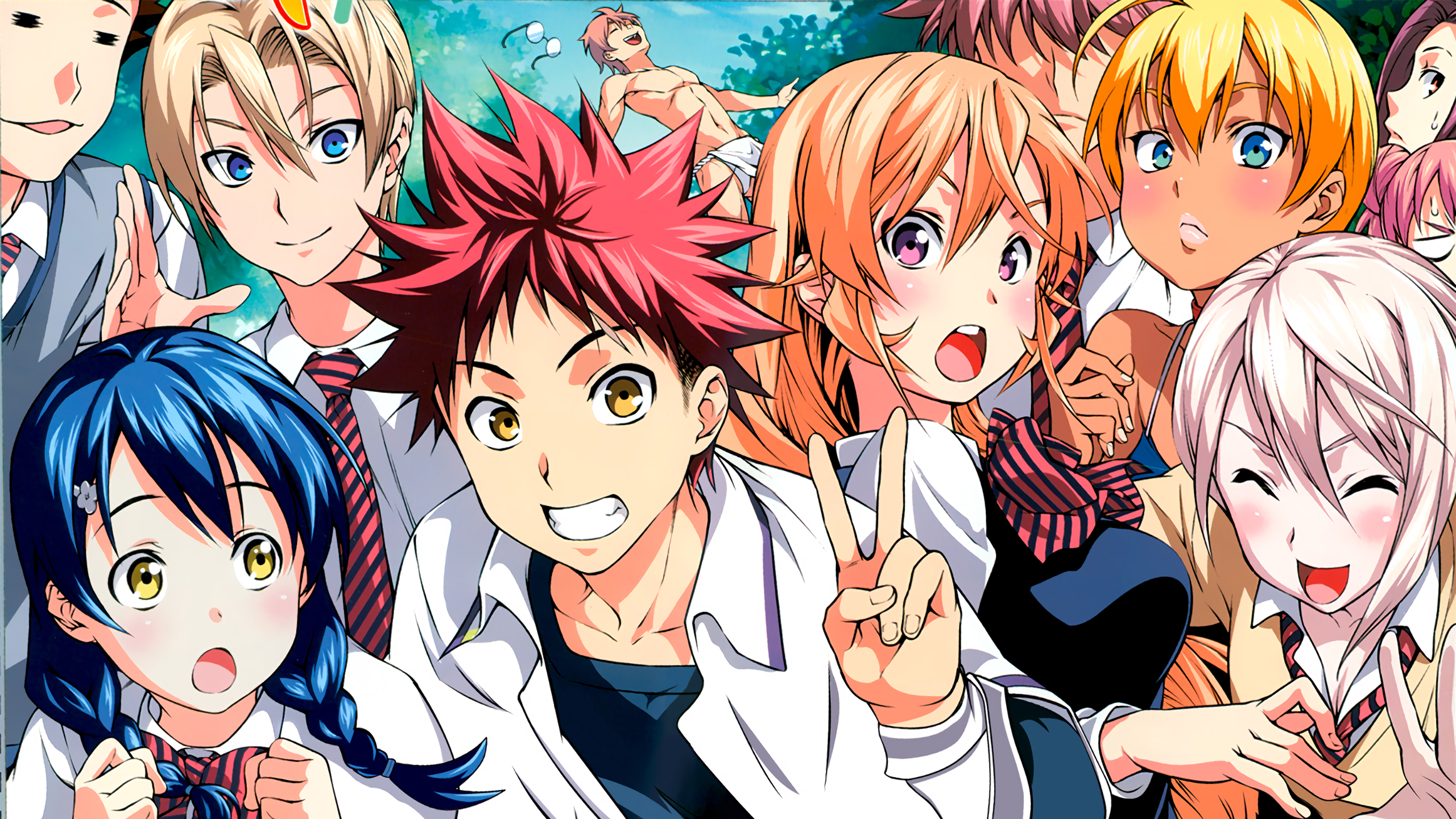 Hd Wallpaper - Shokugeki No Soma Ss4 , HD Wallpaper & Backgrounds