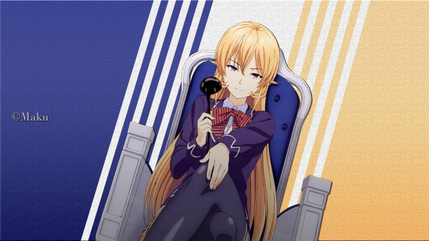 Shokugeki No Soma, Erina Nakiri, Food Wars - Erina Nakiri Shokugeki No Souma , HD Wallpaper & Backgrounds