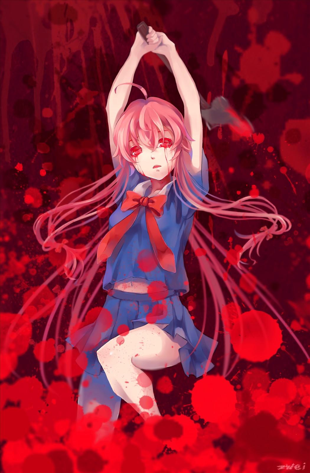 Anime Pixiv Id 1611012 Mirai Nikki Gasai Yuno Mobile Yuno
