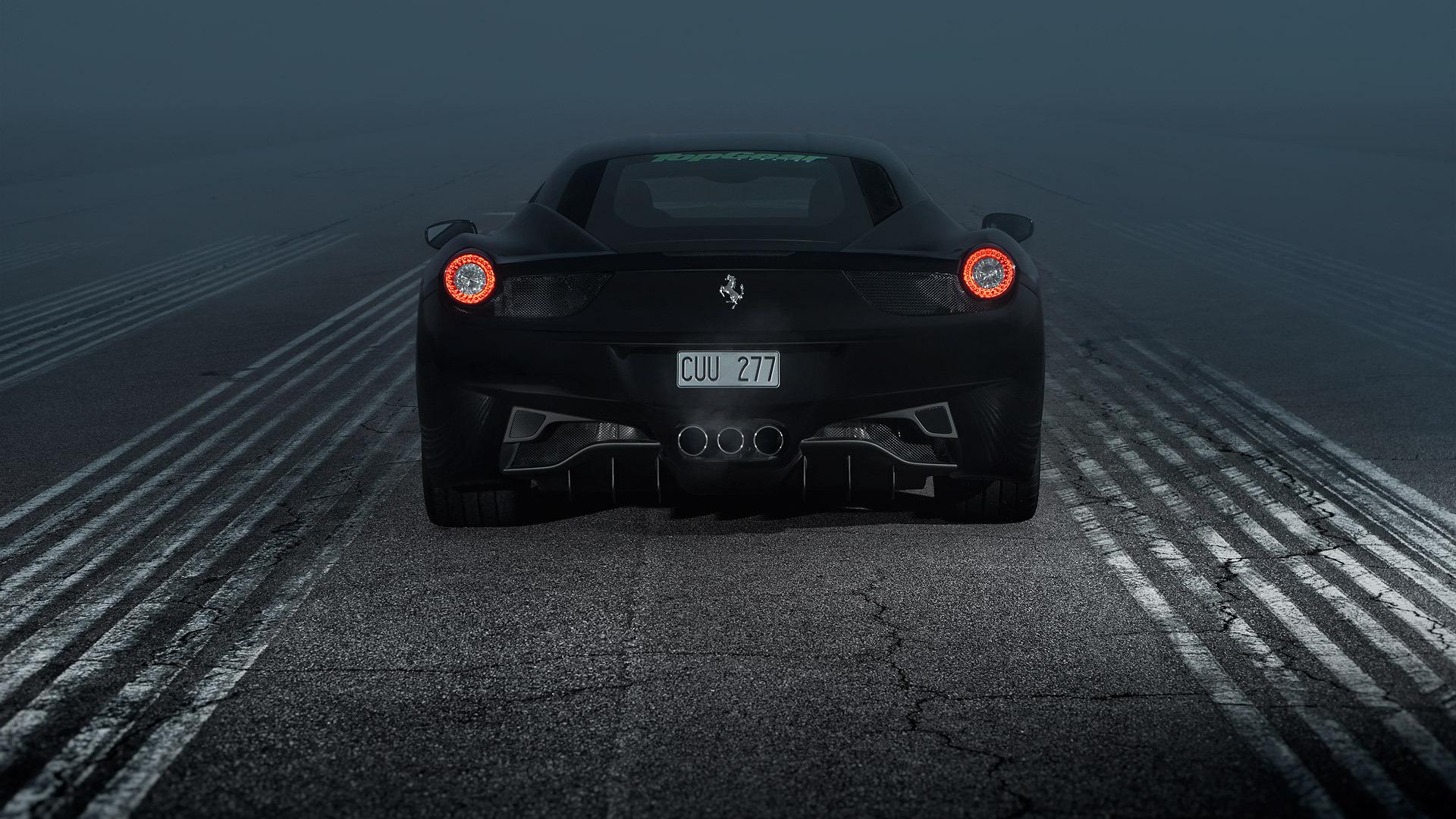 Back To 51 Black Ferrari Wallpapers Hd Black Matte Ferrari Hd 2100399 Hd Wallpaper Backgrounds Download