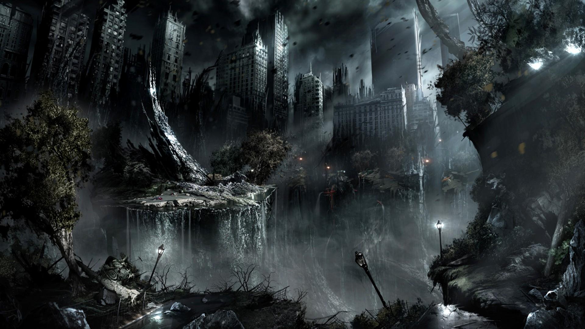 Dark Fantasy Wallpaper - Dark Fantasy , HD Wallpaper & Backgrounds