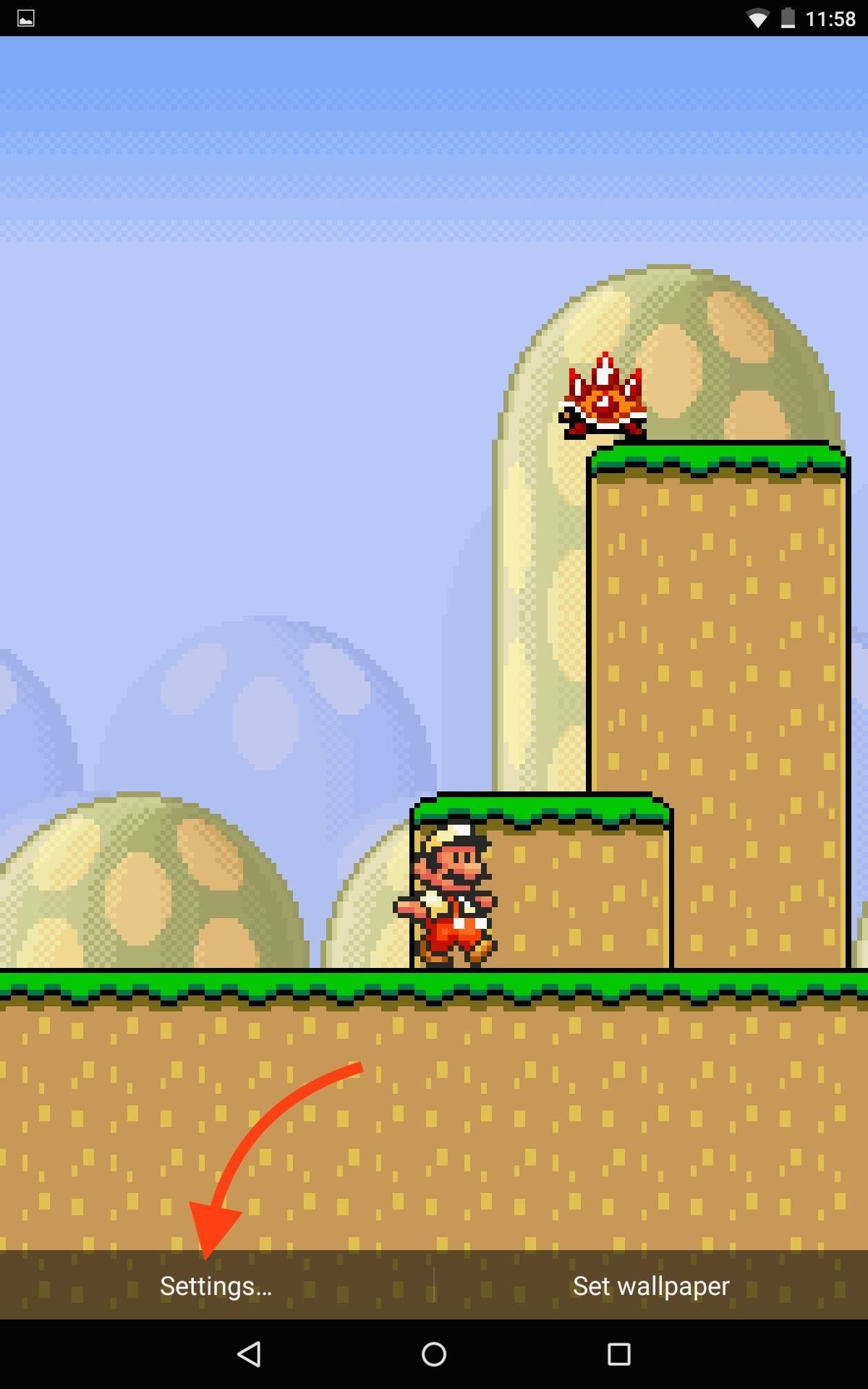 Step 4adjust Mario Live Wallpaper Super Mario Live Wallpaper Iphone 2102902 Hd Wallpaper Backgrounds Download