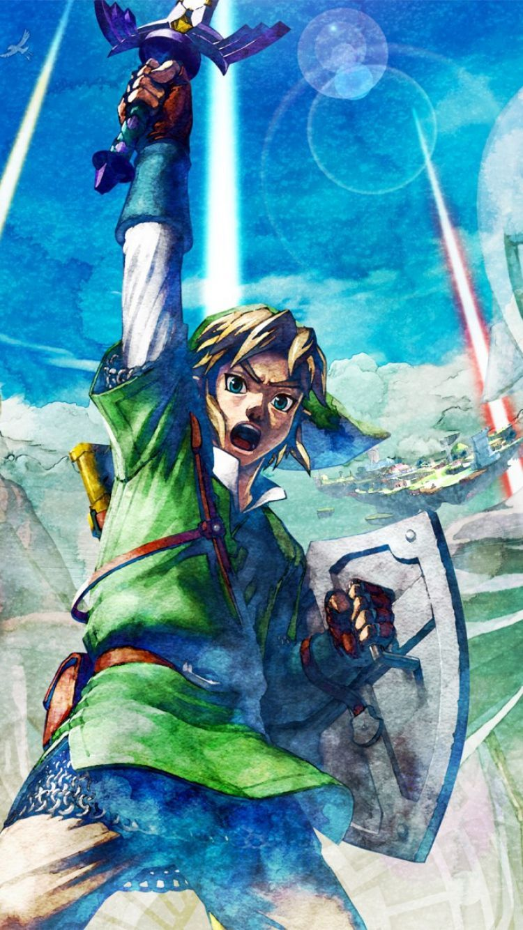 Download Wallpaper The Legend Of Zelda Skyward Sword 2103110