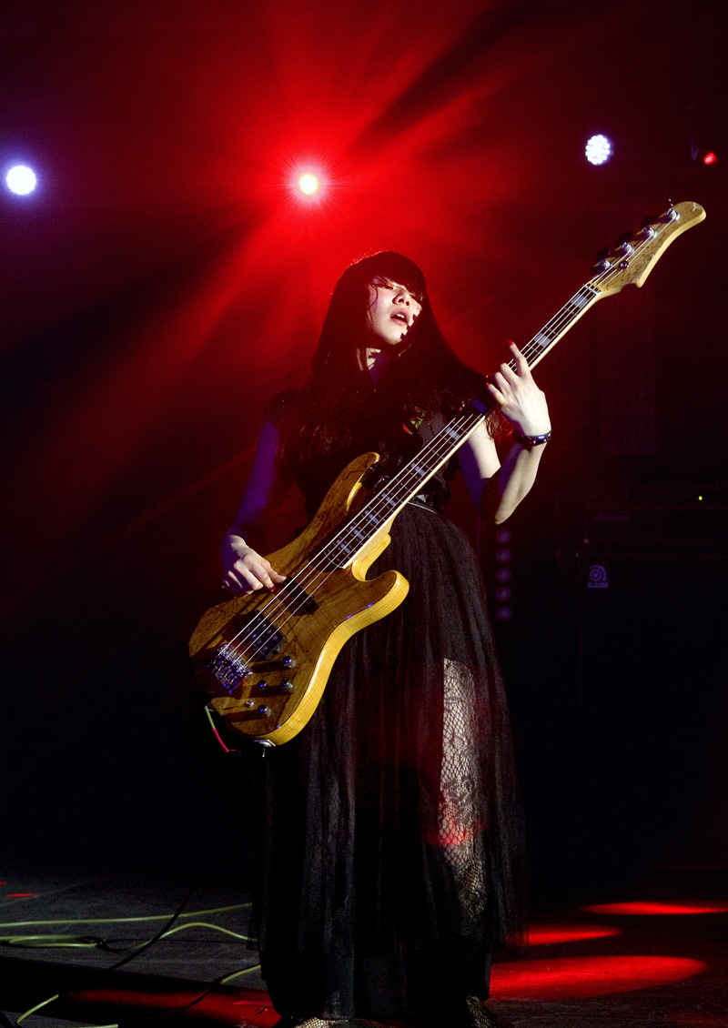 Rmms Band Maid Sakura Con 2016 D1424 - Misa Band Maid Bass , HD Wallpaper & Backgrounds