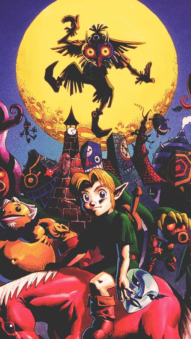 Legend Of Zelda Iphone Wallpaper - Legend Of Zelda Majora's Mask Pc , HD Wallpaper & Backgrounds
