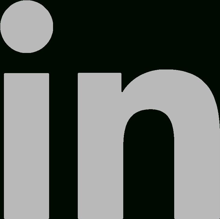 Excelent Download Linkedin Grey Linkedin Logo White White