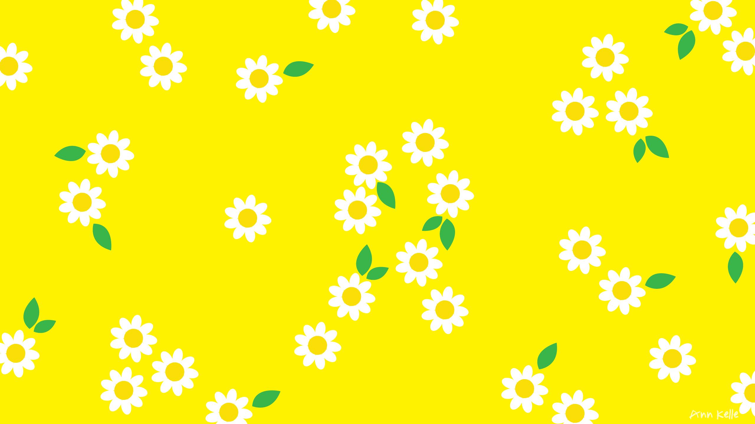 Aesthetic Background Desktop Yellow 2104737 Hd Wallpaper
