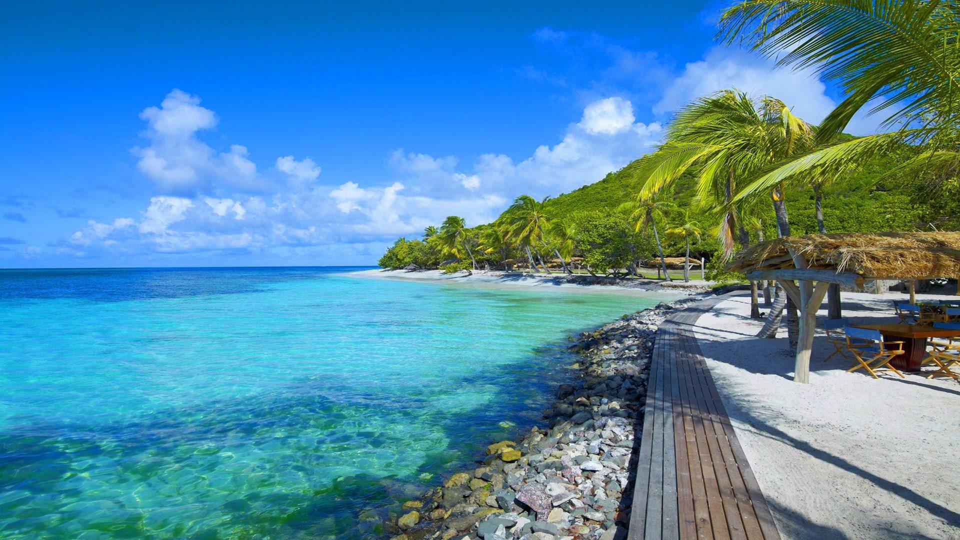 Rainforest Wallpaper Hd Petit St Vincent Islands From Caribbean Islands 1920 1080 2105256 Hd Wallpaper Backgrounds Download