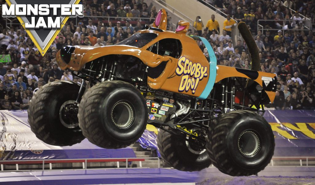 Monster Trucks Download Hd Wallpaper Monster Jam Scooby Doo Png 2106941 Hd Wallpaper Backgrounds Download