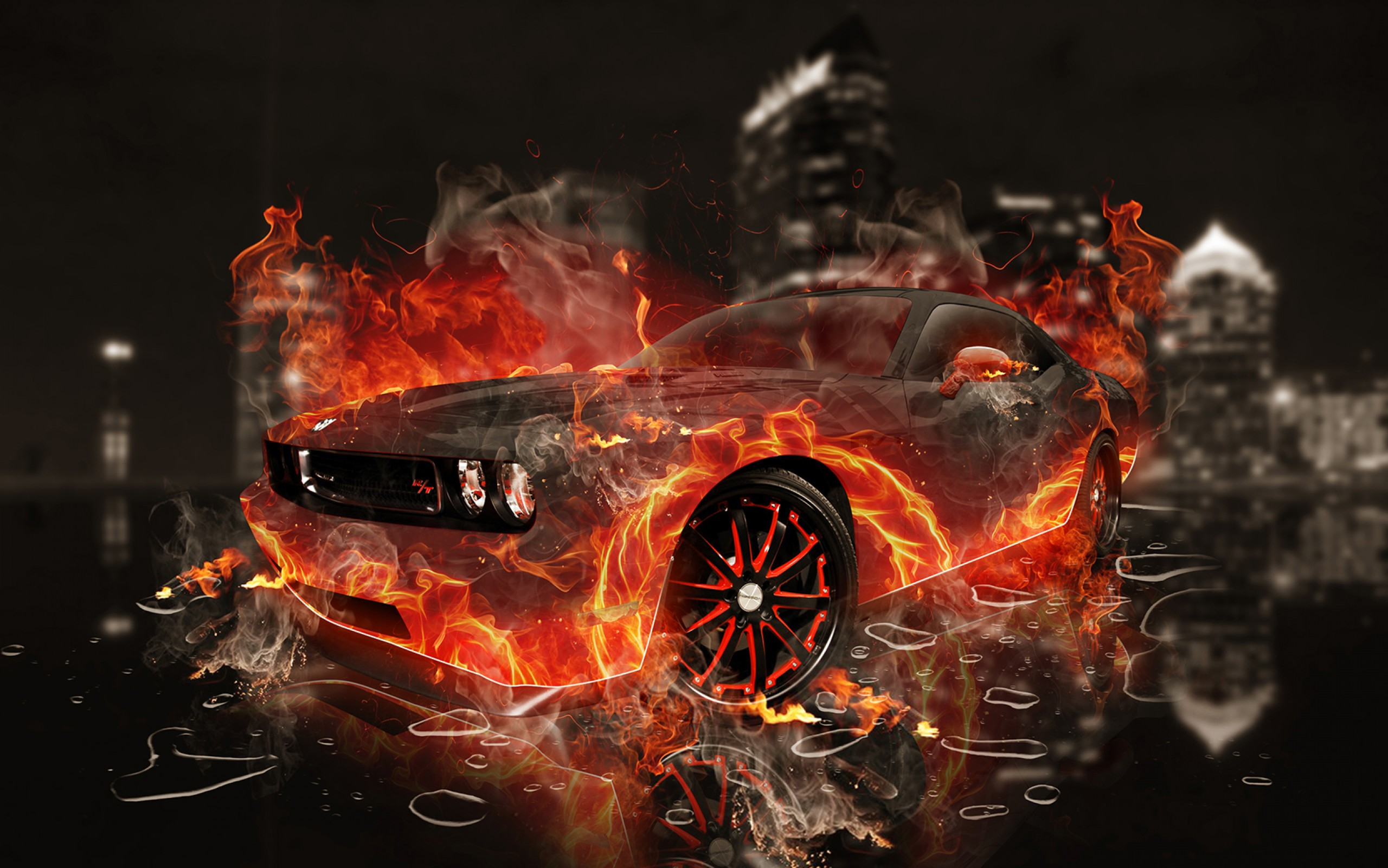 Car Wallpapers For Fire Fire Car 2107296 Hd Wallpaper
