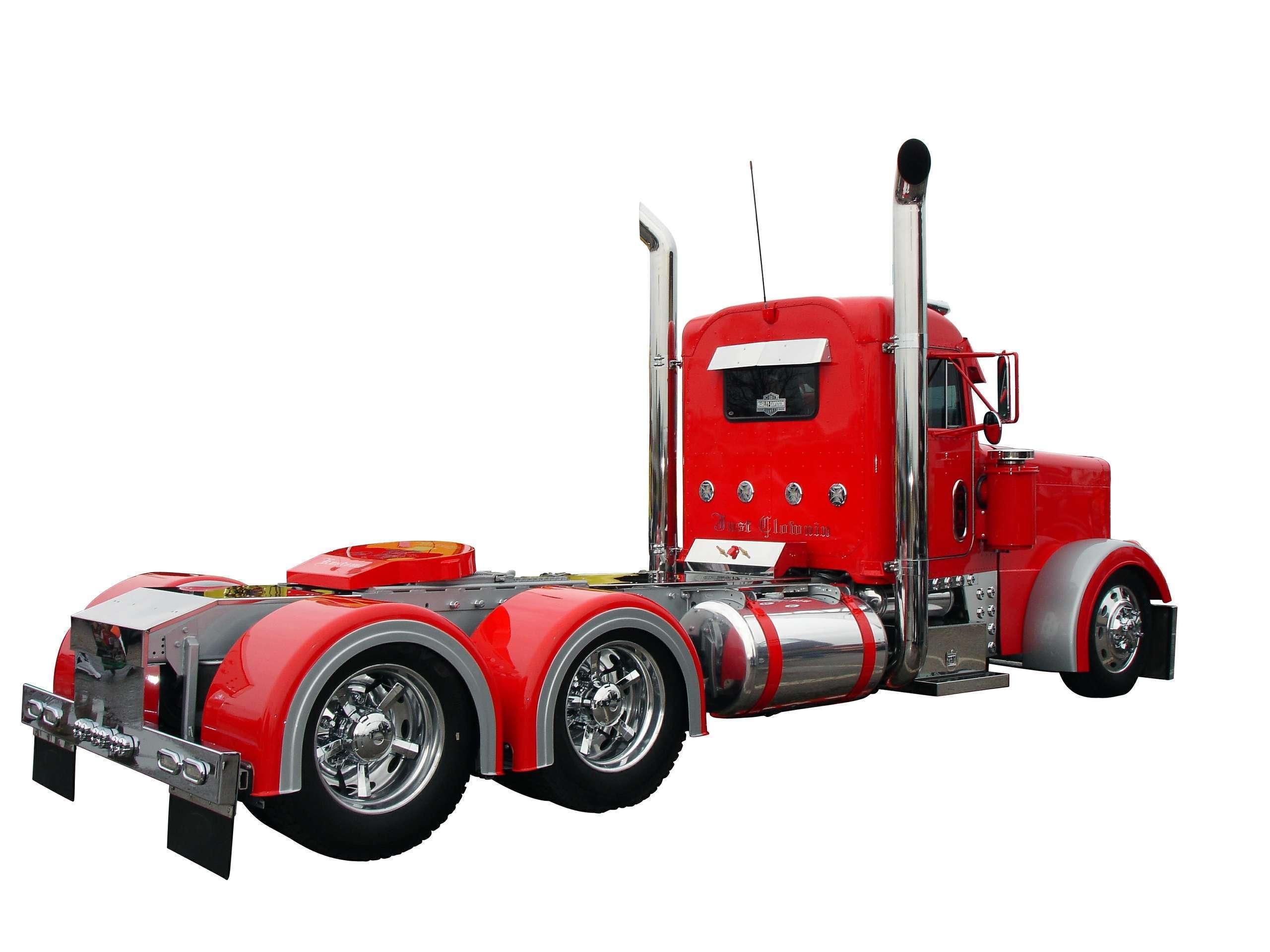 Semi Truck Wallpaper - Semi-trailer Truck , HD Wallpaper & Backgrounds