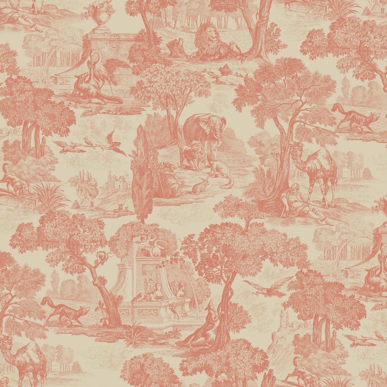 Classic Wallpaper Chinoiserie Non Woven Printed Motif