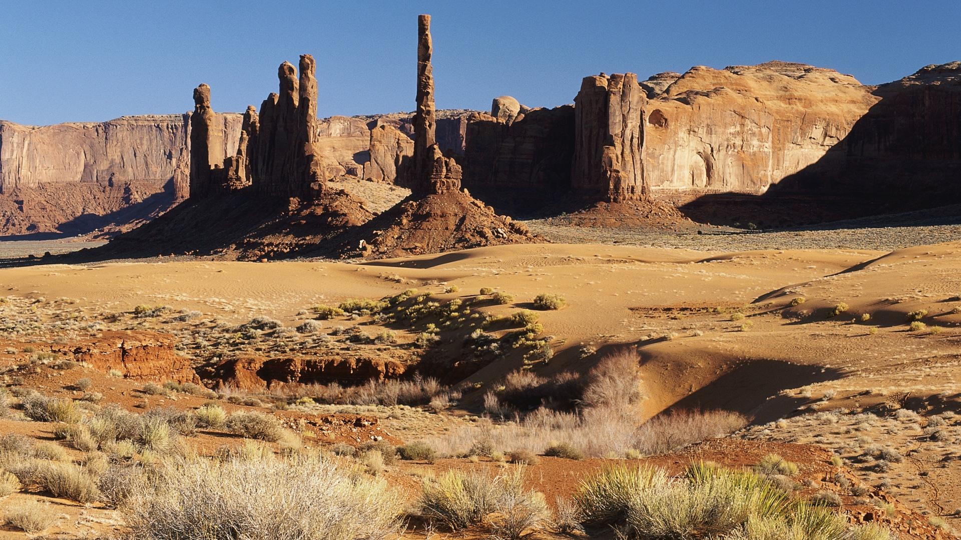 Full Hd Wallpaper Desert Grand Canyon Usa Sand Pillar