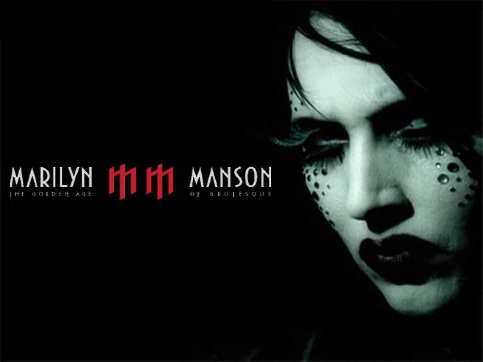 Wallpaper Marilyn Manson The Golden Age Marilyn Manson The
