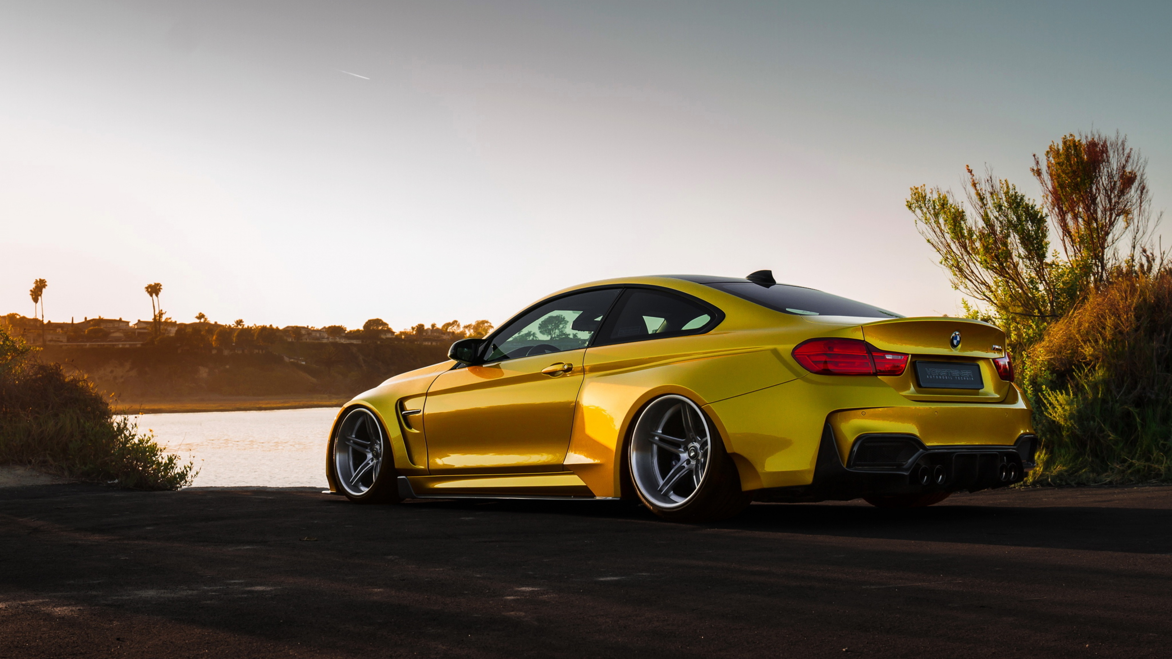 Bmw M4 Vorsteiner Gold Hd Cars 4k Wallpapers Images 2119932 Hd Wallpaper Backgrounds Download