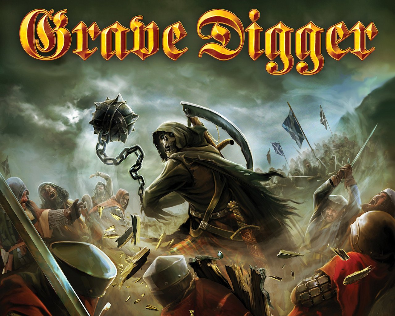 Wallpapers Id - - Grave Digger The Clans Will Rise Again , HD Wallpaper & Backgrounds