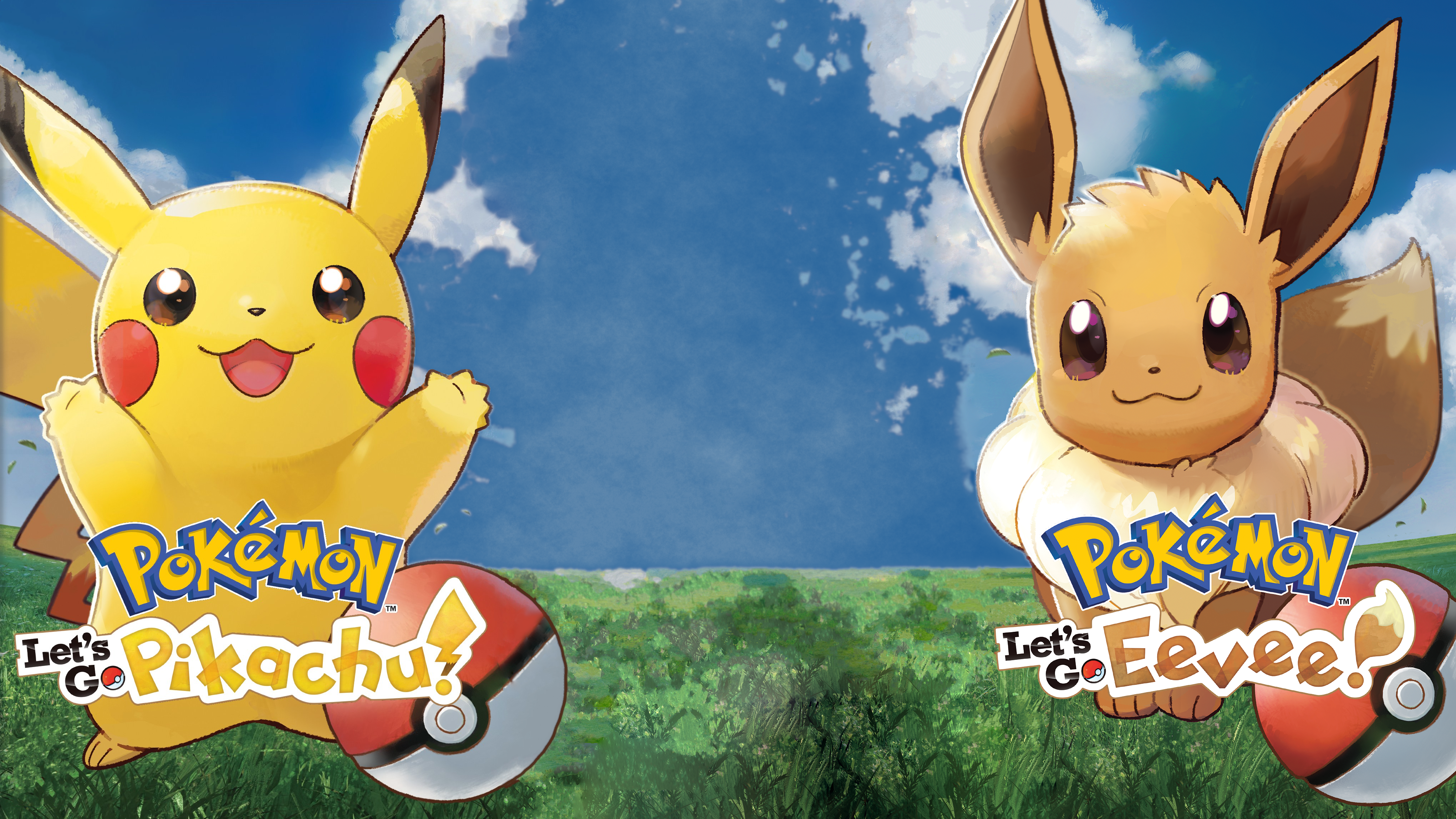 I Decided To Try And Turn The Let S Go Box Arts Into - Pokemon Let's Go Pikachu E Eevee , HD Wallpaper & Backgrounds