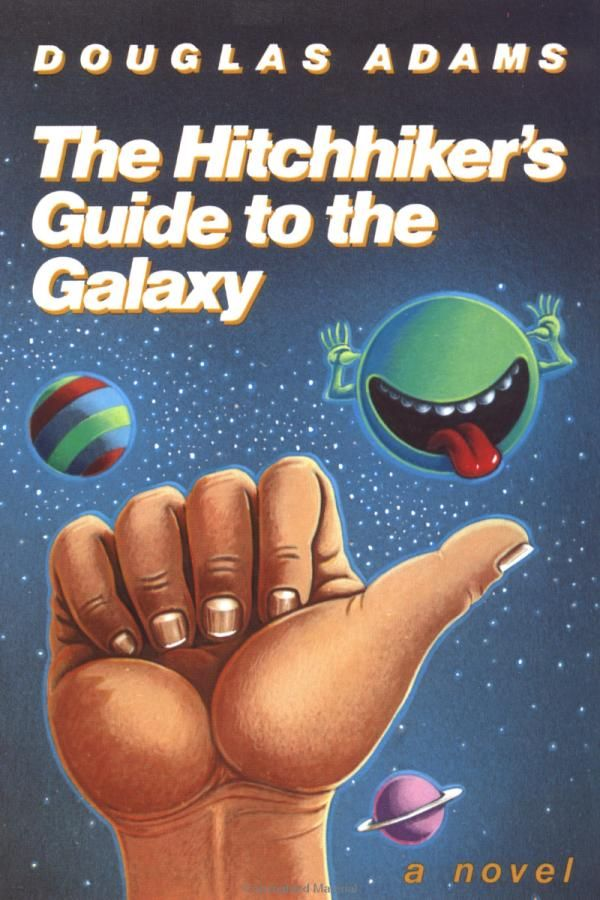 Hitchhiker's Guide To The Galaxy Cover - Hitchhiker's Guide To The Galaxy Original Book , HD Wallpaper & Backgrounds