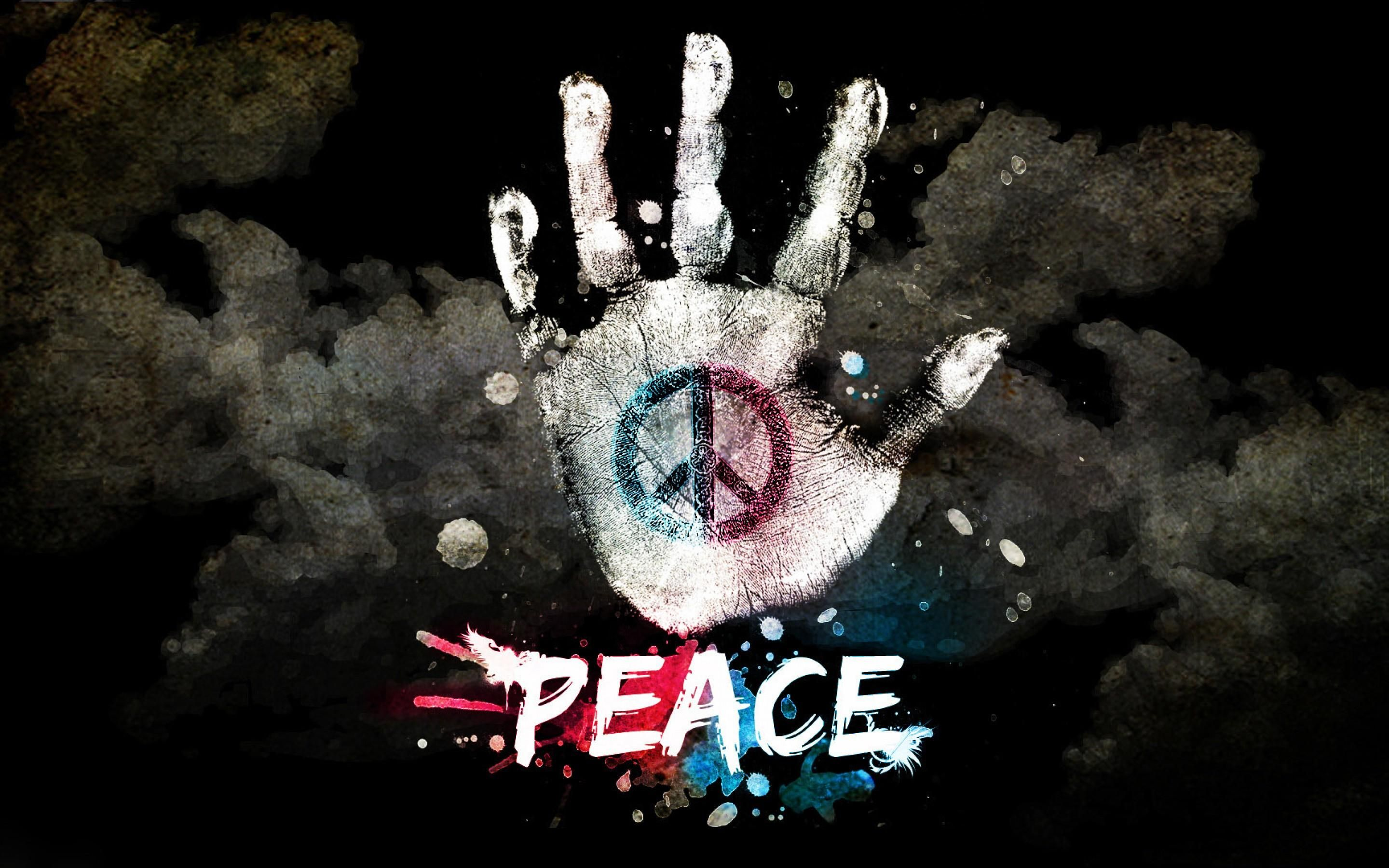 Peace Wallpaper Hd - Peace Symbol Images Hd , HD Wallpaper & Backgrounds