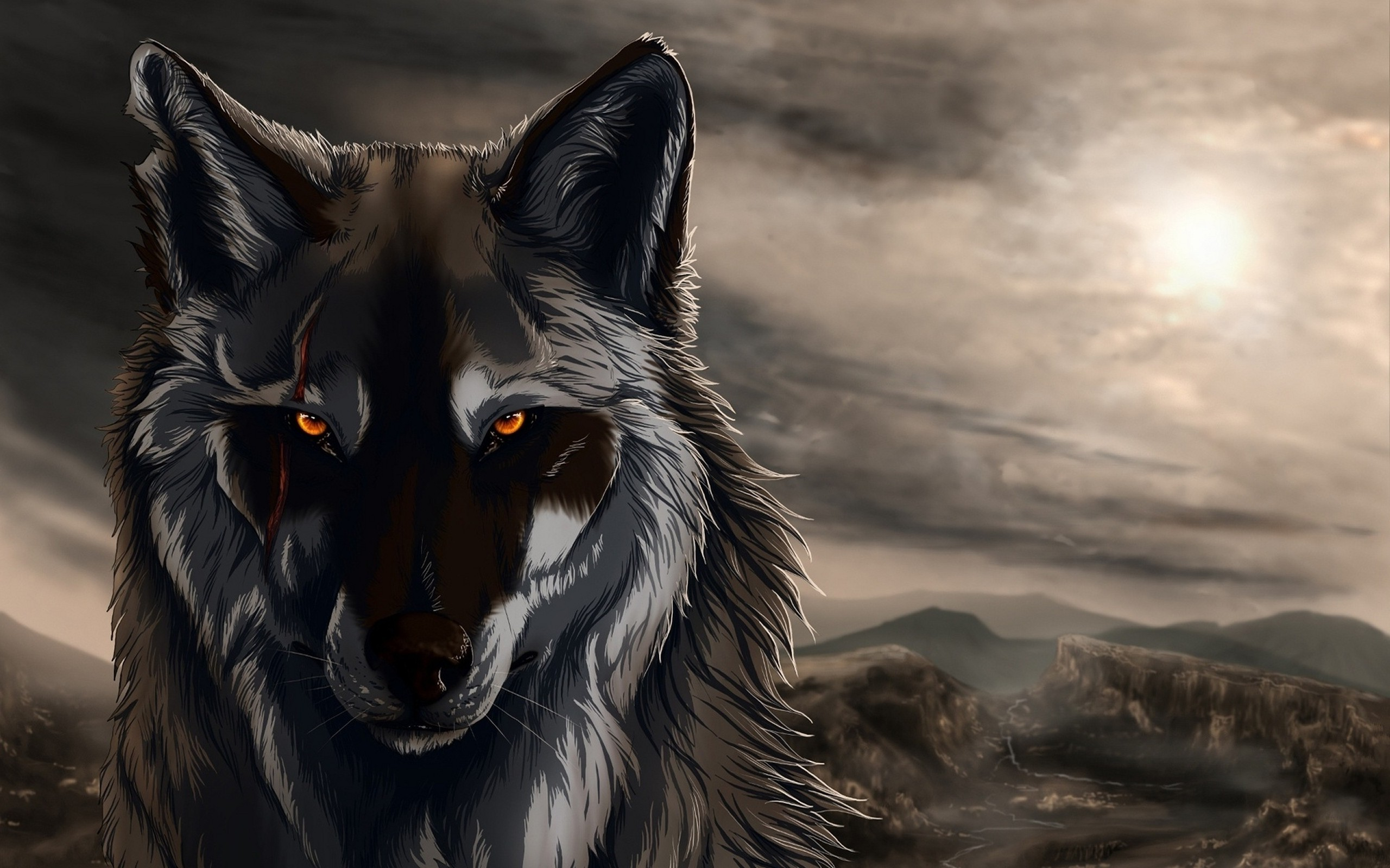 213 2132297 wolf artwork digital art animals wallpapers hd digital