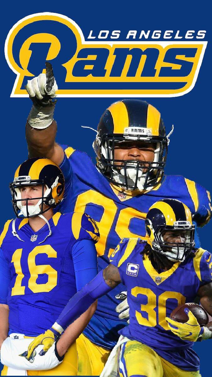 La Rams Phone Wallpaper I Made - Iphone Los Angeles Rams Wallpaper 2019 , HD Wallpaper & Backgrounds