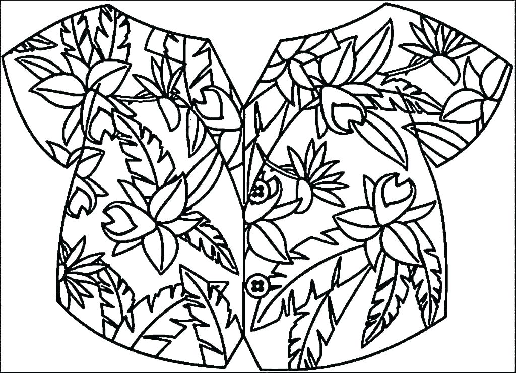 Coloring State Flag Page Color Pages Book Also Ideal - Hawaiian Shirt Coloring Page , HD Wallpaper & Backgrounds