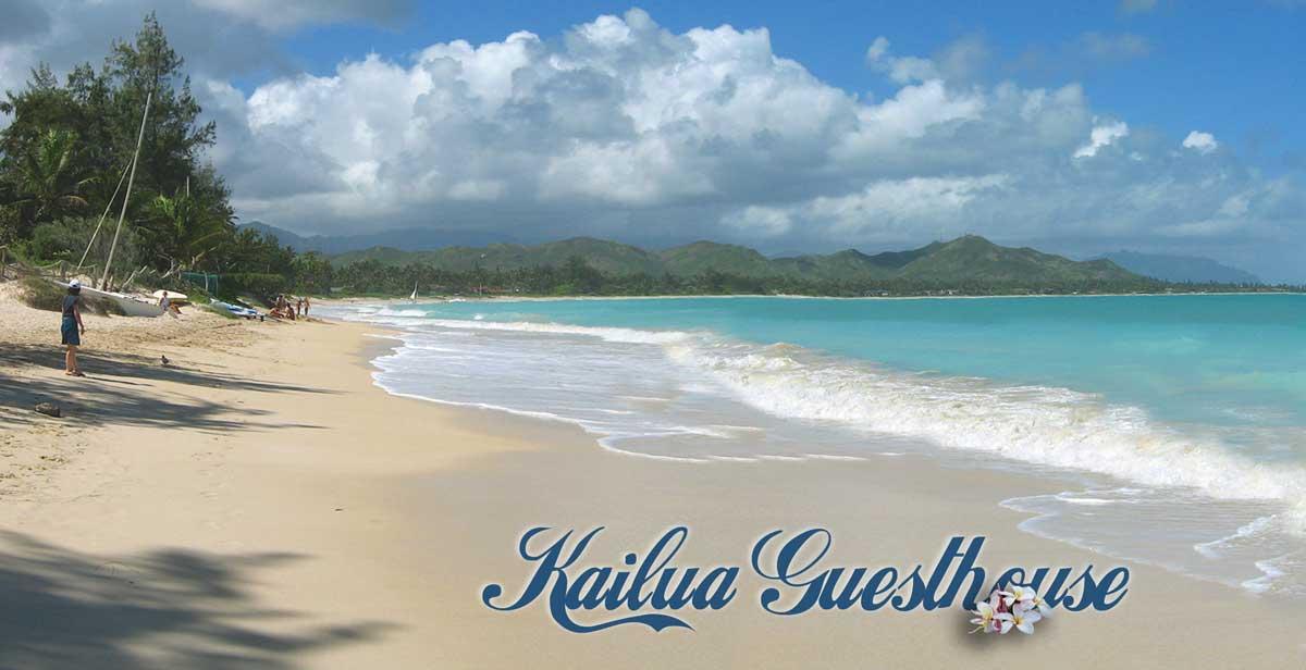 Kailua Beach From Kailua Beach Park Looking North Kailua
