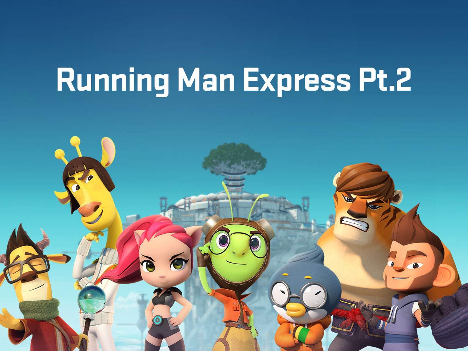 Running Man Cartoon Cast 2136878 Hd Wallpaper