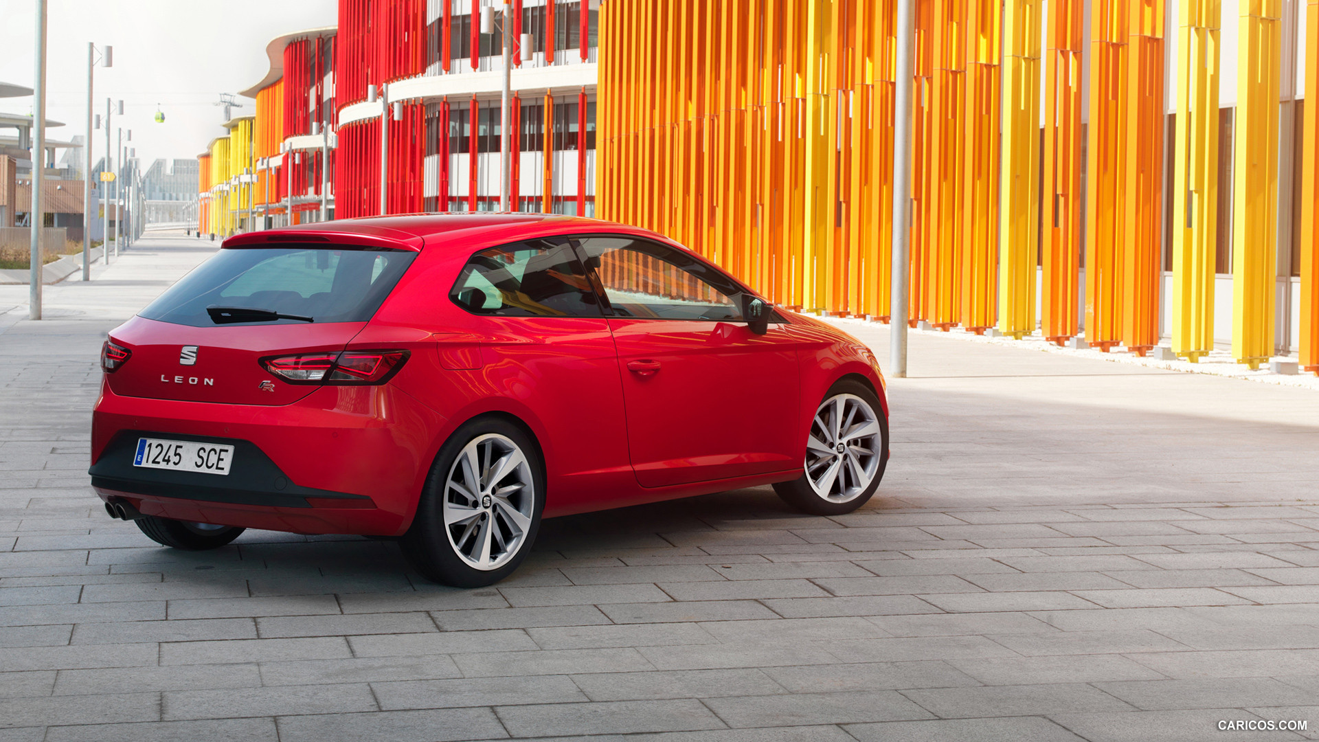 Test Drive The Car Seat Leon 2014 Wallpapers And Images