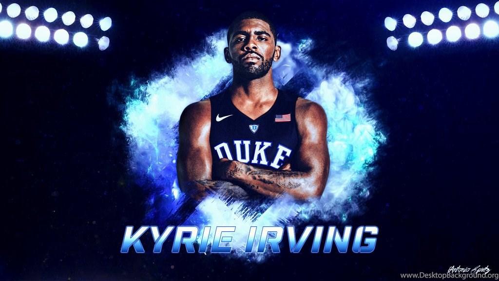 Duke Blue Devils Basketball Wallpaper - Kyrie Irving Duke Background , HD Wallpaper & Backgrounds