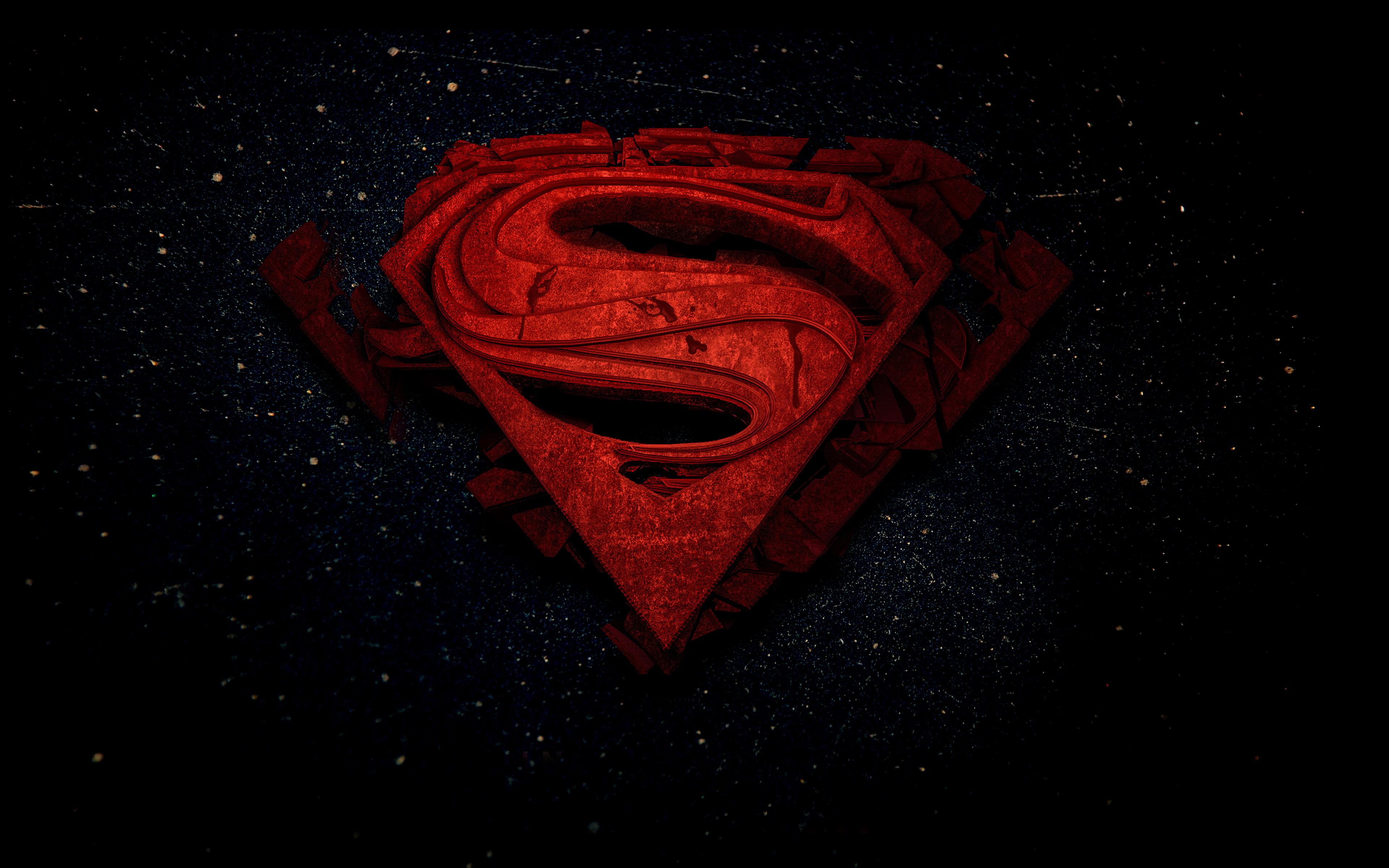 Superman 4k Space 3d Logo Superheroes Dc Comics Superman 4k Wallpaper For Mobile 2142286 Hd Wallpaper Backgrounds Download