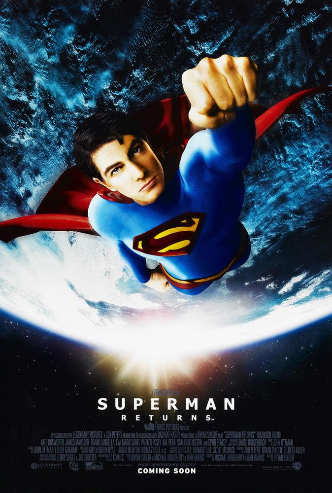 Superman Returns Poster Wallpaper Superman Returns Movie
