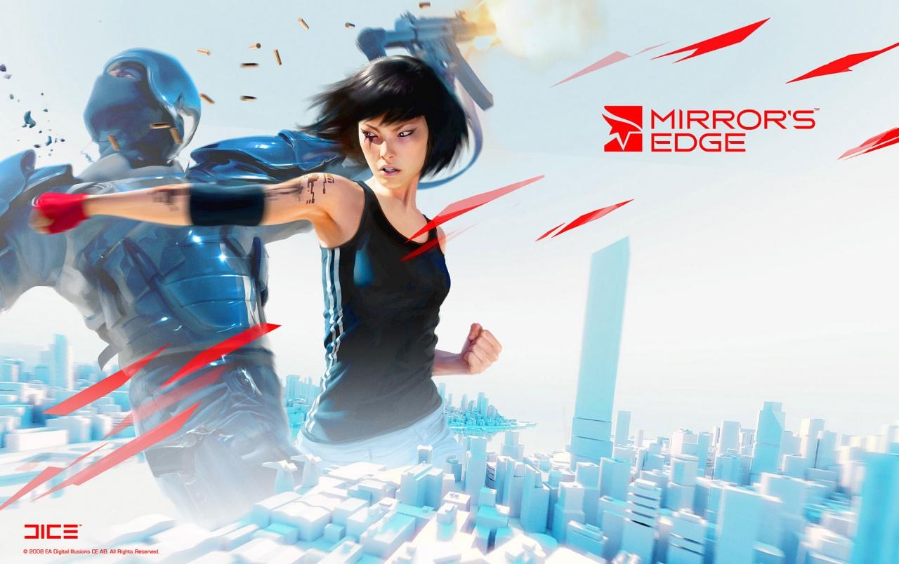 Originalwide Mirror's Edge Wallpapers - Mirror's Edge 1 Faith , HD Wallpaper & Backgrounds