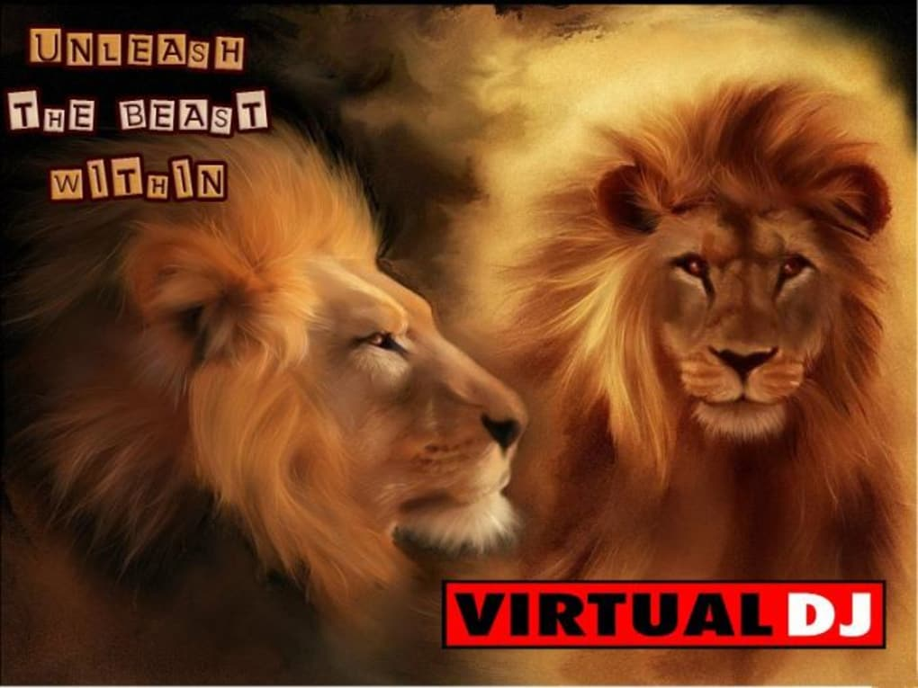 Virtual Dj Wallpapers Pack - Male Lion Wallpaper Hd , HD Wallpaper & Backgrounds