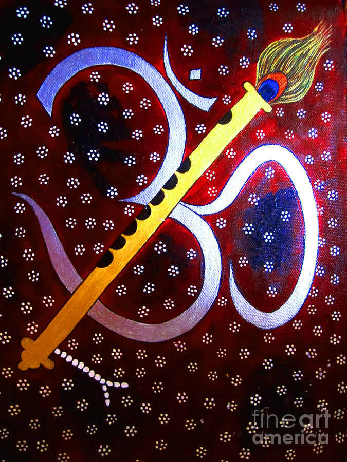 Hari Om- Whimsical Painting Painting - Jai Maiya Bhagwan Ji Phillaur , HD Wallpaper & Backgrounds