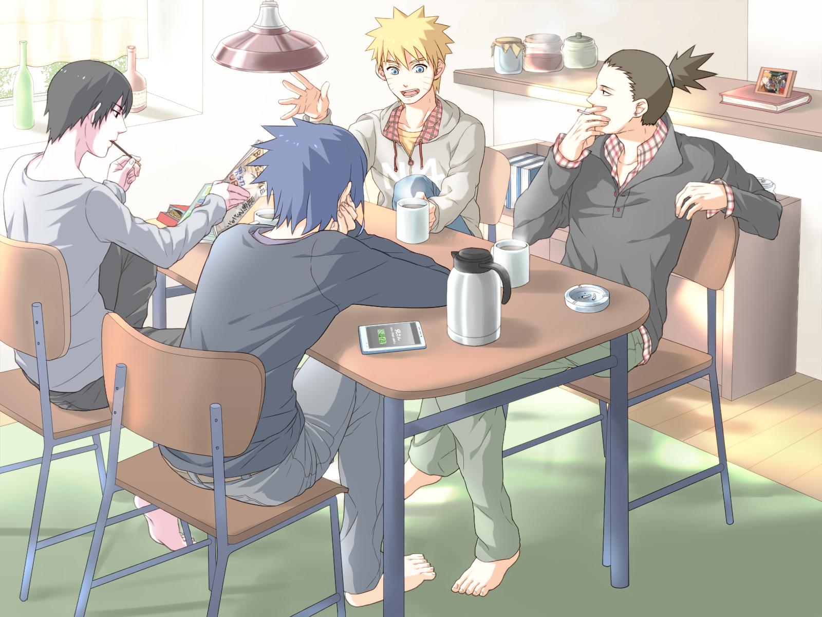 Grown Up Sasuke Ipad Wallpaper Naruto And Sasuke Smoking