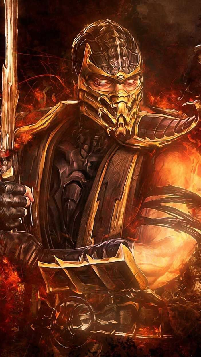 Mortal Kombat X Scorpion Wallpaper Mortal Kombat Iphone X