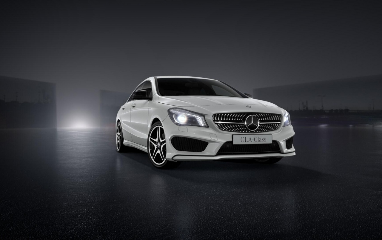 Hd White Cla 45 Amg Wallpapers Mercedes Benz Cla Class