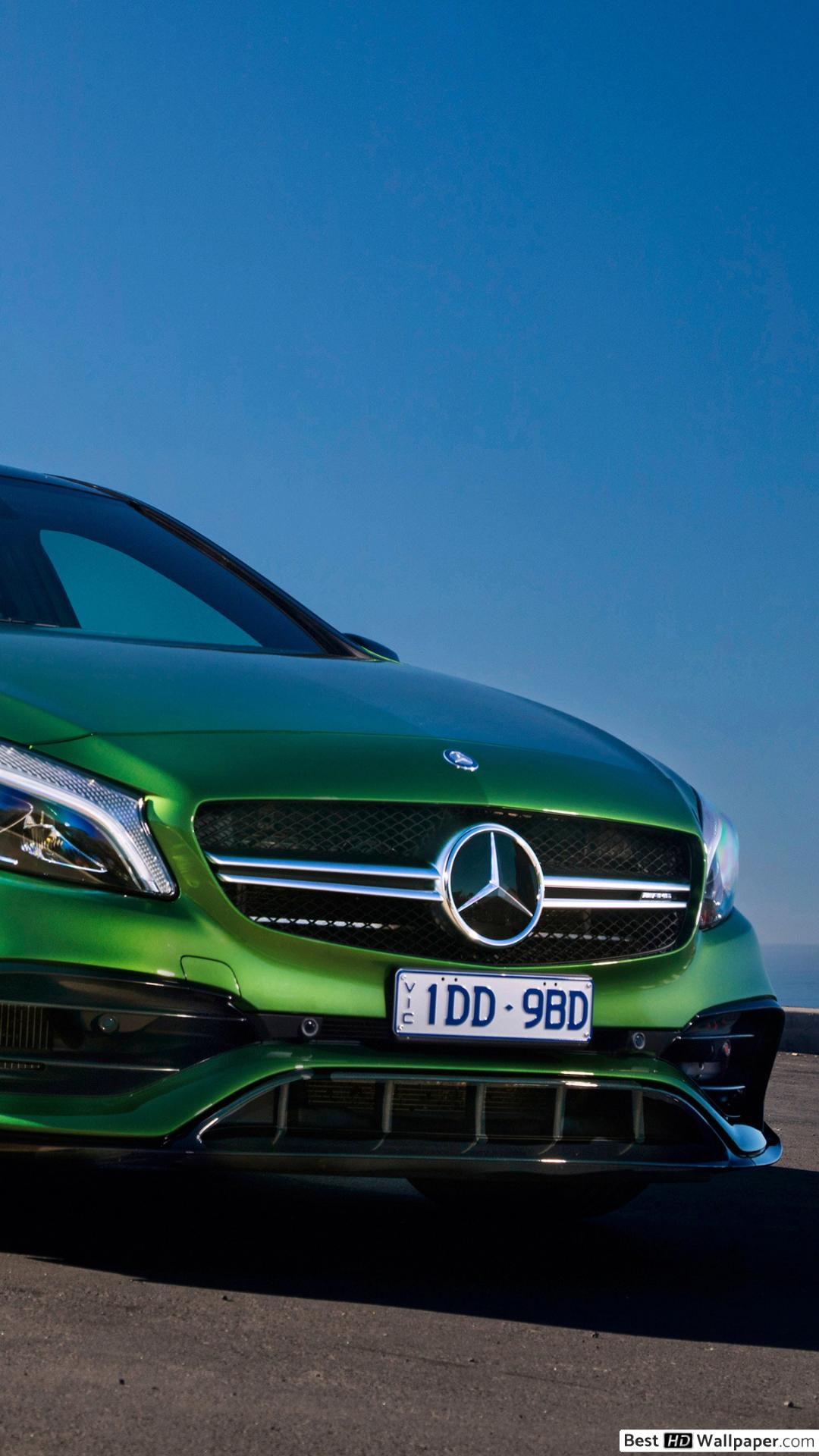 Apple Iphone 7 Plus, - Mercedes A Class Amg Green , HD Wallpaper & Backgrounds