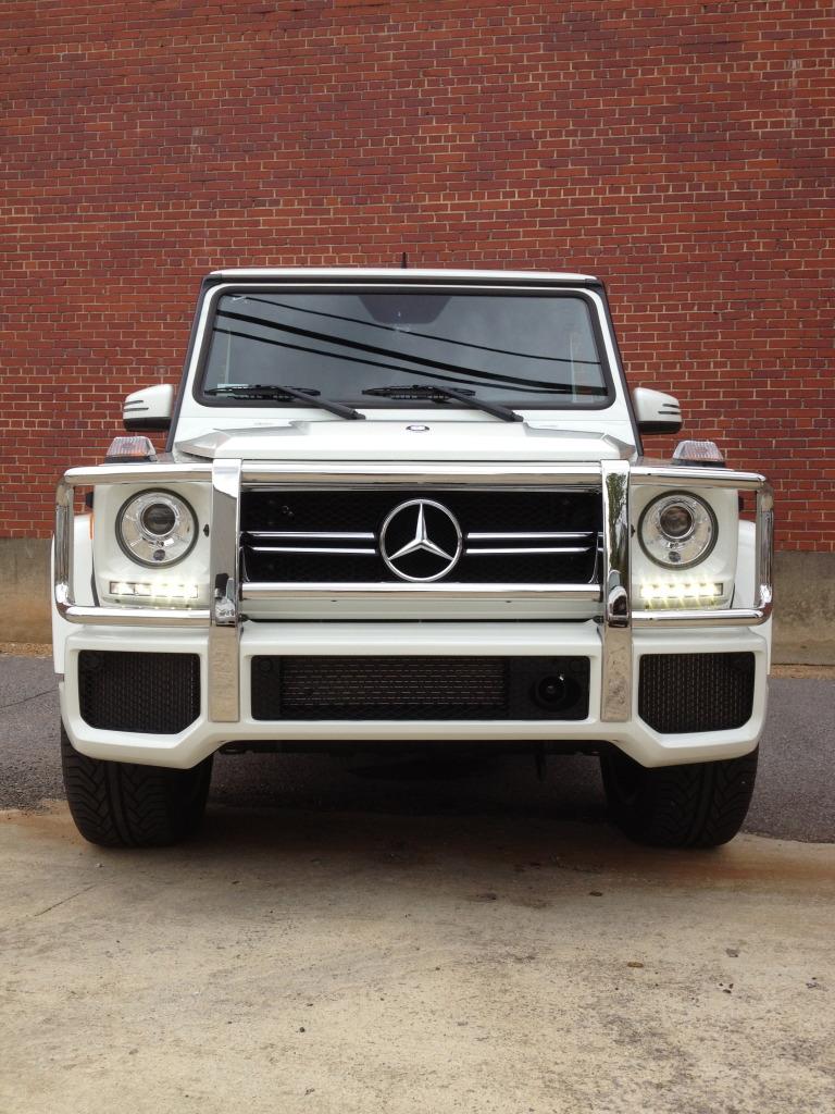 2013 G63 Amg Pics-img 0810 - Mercedes G Class White Wallpaper Iphone , HD Wallpaper & Backgrounds