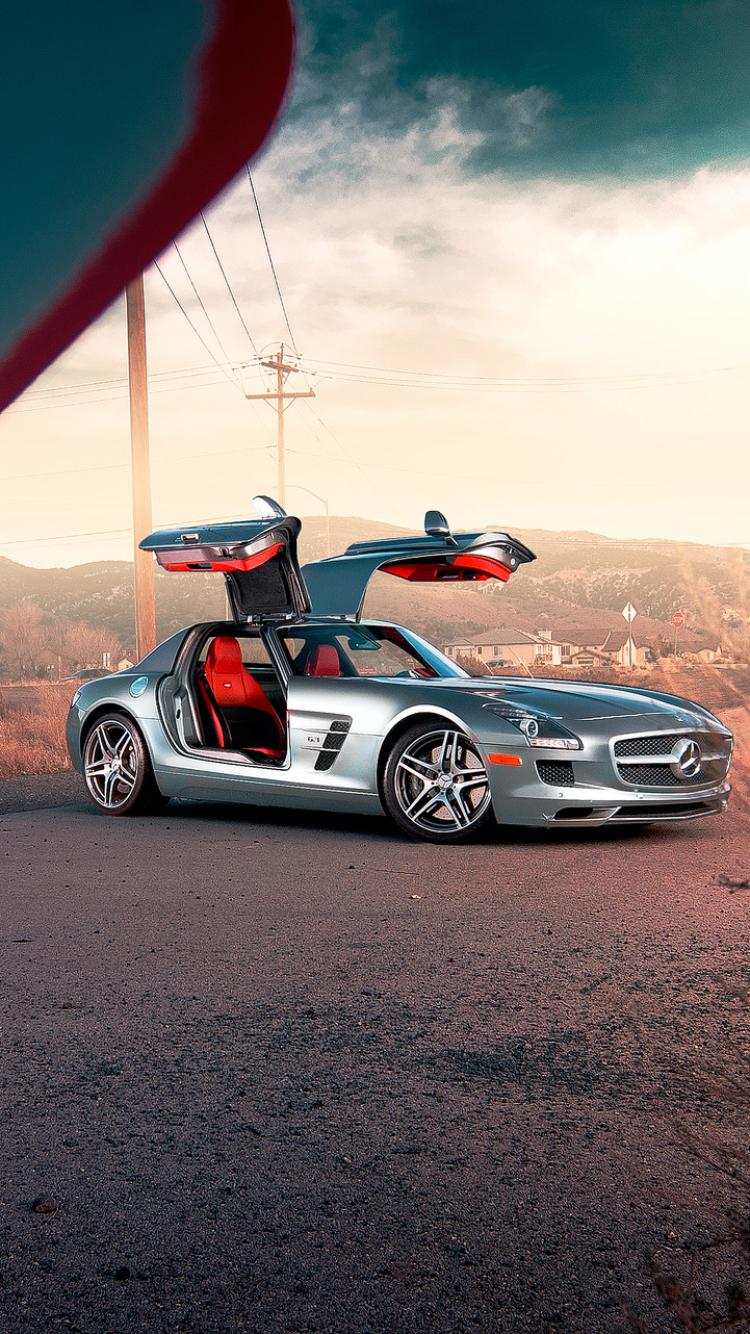 Wallpaper Mercedes Benz Sls Amg Wallpaper Iphone 2169433