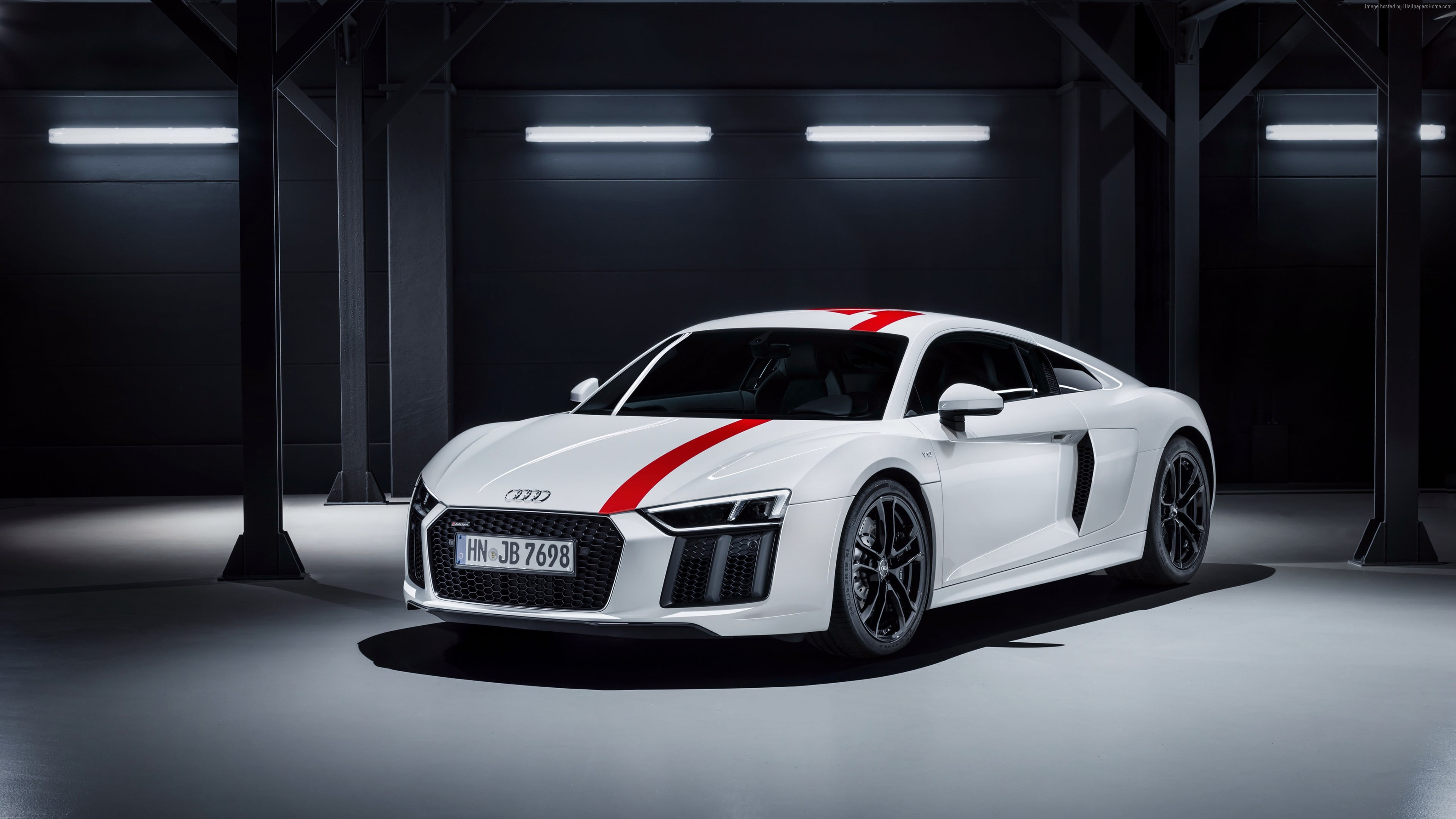 White Audi R8 Hd Wallpaper 2018 Audi R8 V10 Plus 2174324