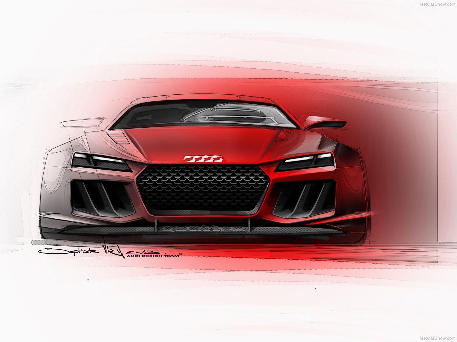 Design Sketch Wallpaper Fresh Audi Sport Quattro Concept - Audi Quattro Sketch , HD Wallpaper & Backgrounds