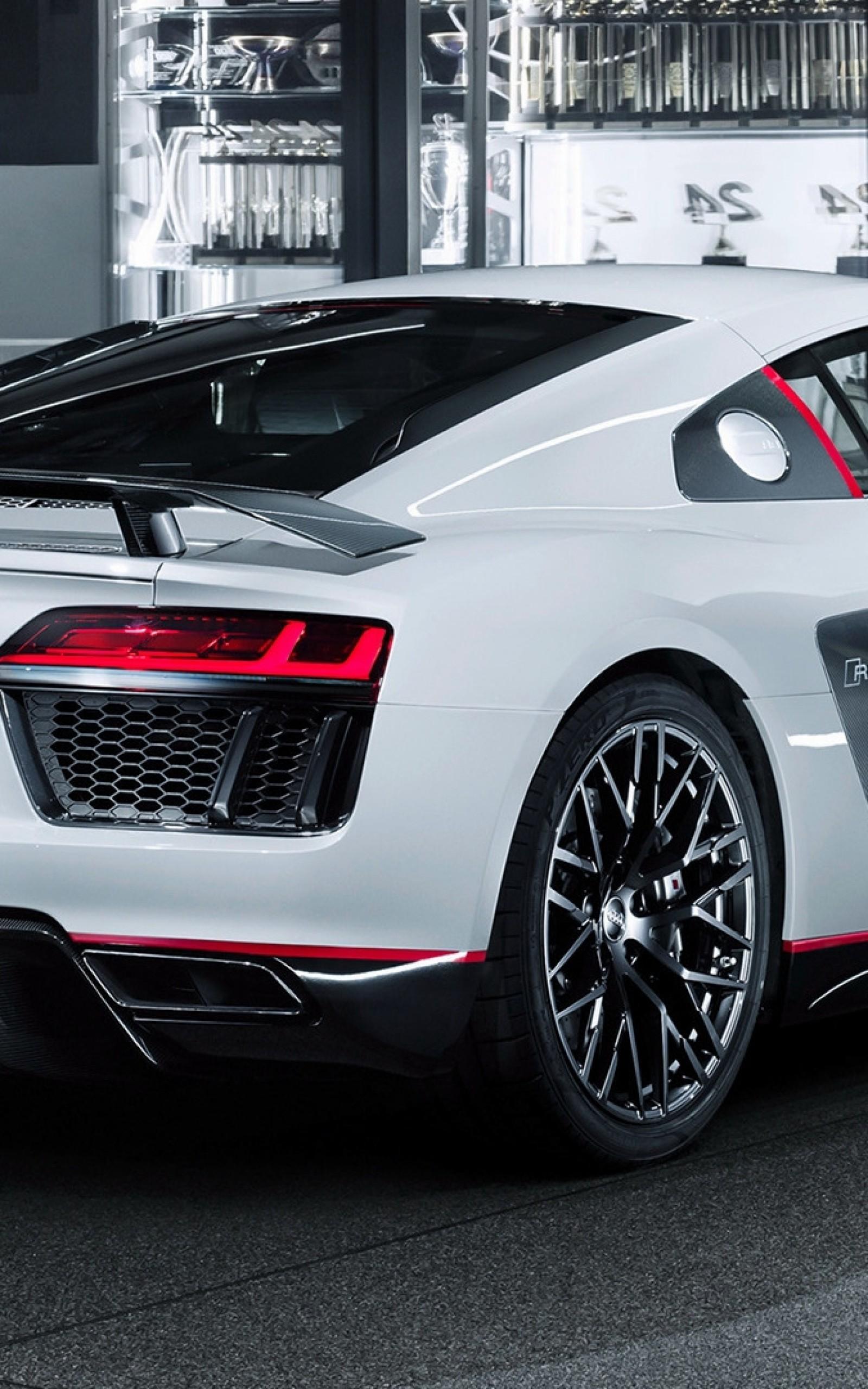 Audi R8 V10 Plus, White, Side View, Luxury, Cars - Audi R8 V10 Plus Hd , HD Wallpaper & Backgrounds